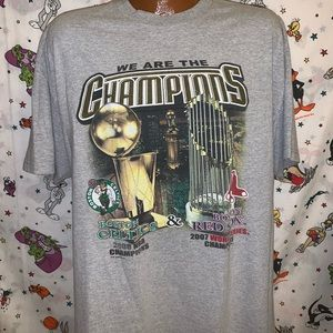 Boston Celtics & Red Sox Champions Graphic T-shirt